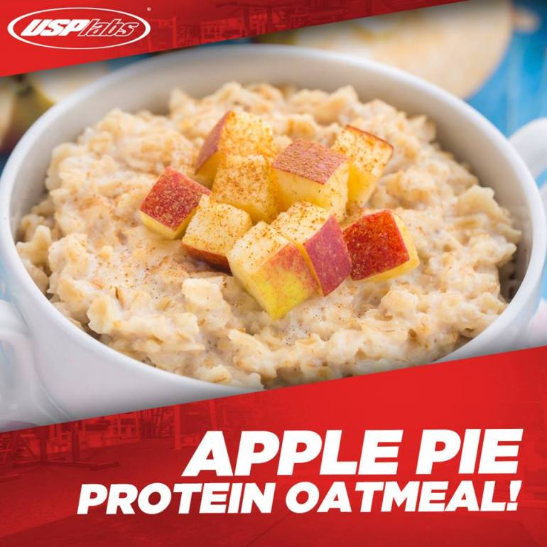 apple-pie-protein-oatmeal